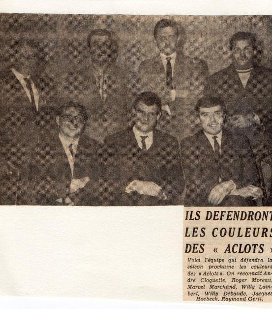 """Article paru dans le journal """"Le Peuple"""" du 10/11/1967"""