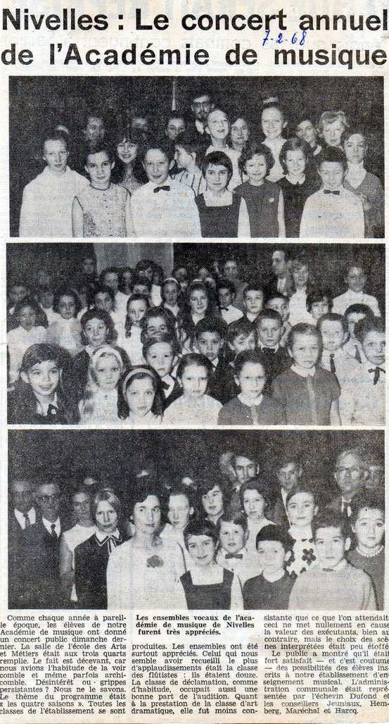Article paru le 7/02/1968