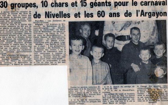 """Article paru dans le journal """"Le Peuple"""" du 9/02/1967"""