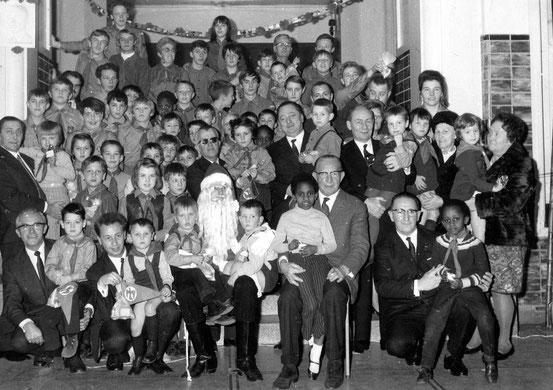 Dans les locaux de l'Ecole Normale (fin des années 60)