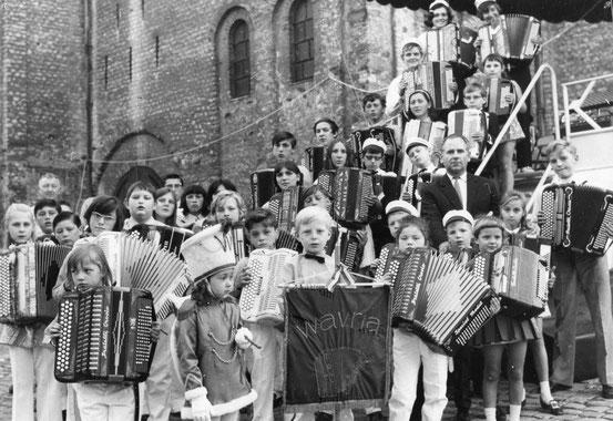Concert d'accordéons (le 19/09/1970)
