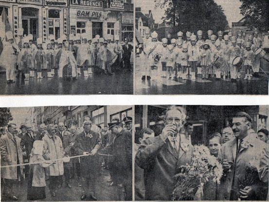 """Article paru dans le journal """"Le Peuple"""" du 23/09/1968"""