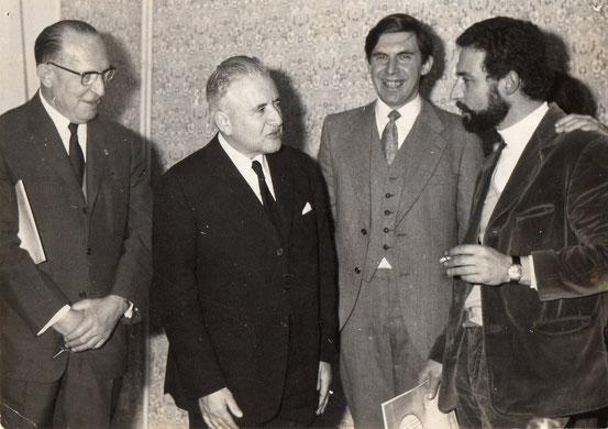 1er anniversaire de la M.J.C en présence du Ministre PARISIS
