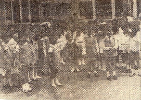 Enfants de l'Ecole gardienne de Bléval