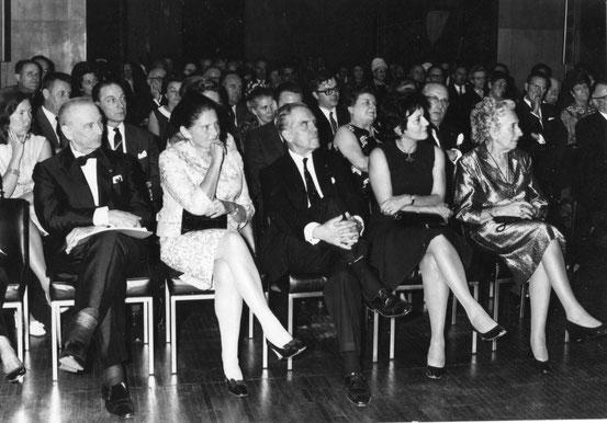 Hommage au Comte du Bois à l'Hôtel de Ville le 18/09/1970