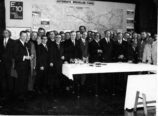 Retrouvailles des prisonniers de Guerre en avril 1972
