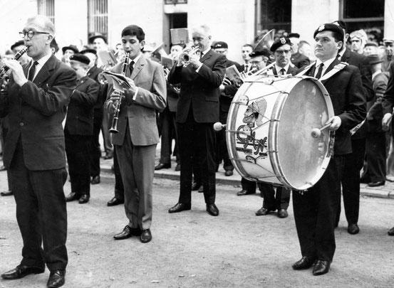 Le Corps musical Nivellois sur la Place