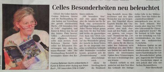Cellesche Zeitung 16.11.2013