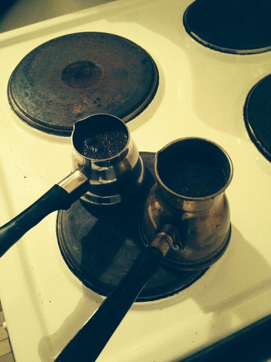 kochen lassen ca. drei Minuten
