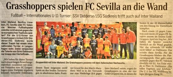 """Juni 2013 in der """"Aller Zeitung"""""""