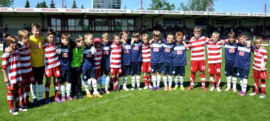 Grasshoppers mit Hertha BSC im Juni 2012