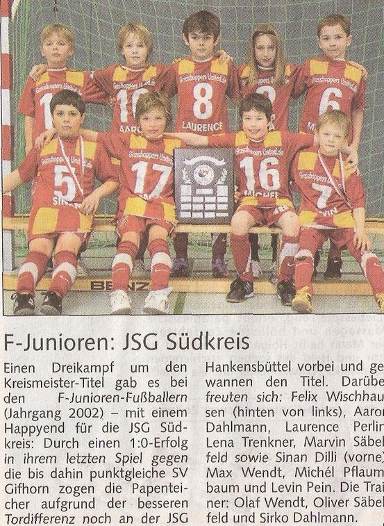 """März 2011 in der """"Braunschweiger Zeitung"""""""
