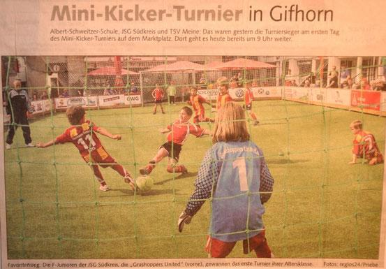 """Mai 2011 in der """"Braunschweiger Zeitung"""""""