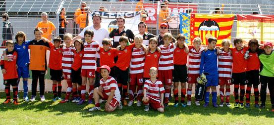 Grasshoppers mit Valencia CF im Mai 2012