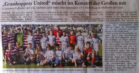 """Oktober 2012 in der """"Braunschweiger Zeitung"""""""