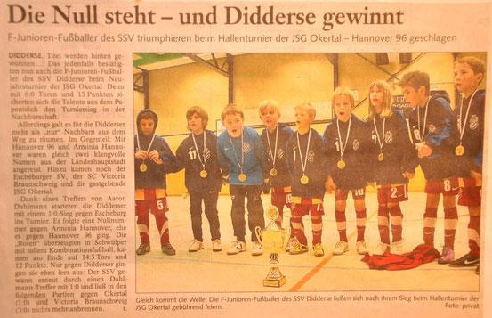 """Januar 2011 in der """"Braunschweiger Zeitung"""""""