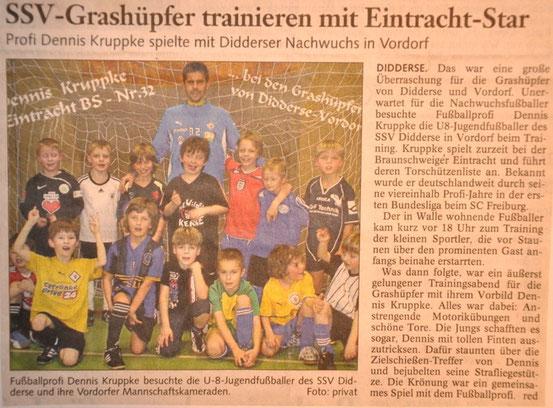 """März 2010 in der """"Braunschweiger Zeitung"""""""