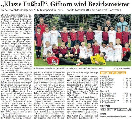 """Juni 2012 in der """"Braunschweiger Zeitung"""""""