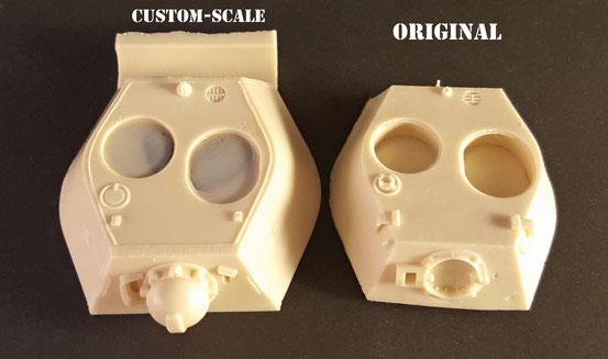 Korrekter VK 1602 Turm - Custom-Scales Webseite!