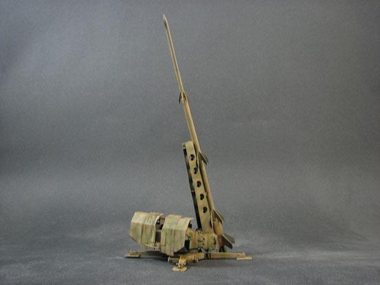 Flakrakete Rheinbote in der frühen Versuchsversion.
