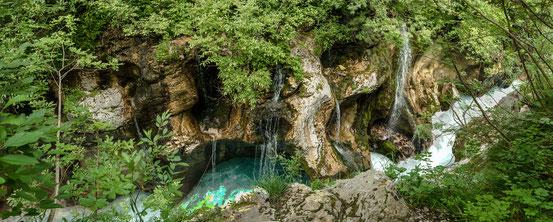 Der reißende Fluß Soća
