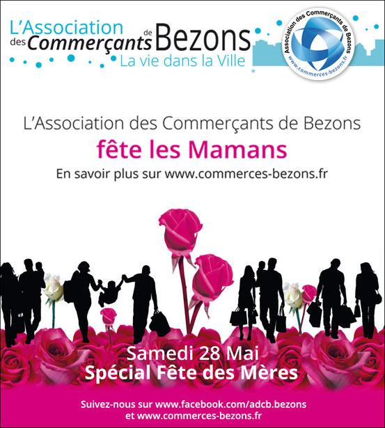 FÊTE DES MÈRES - L'Association des commerçants de Bezons