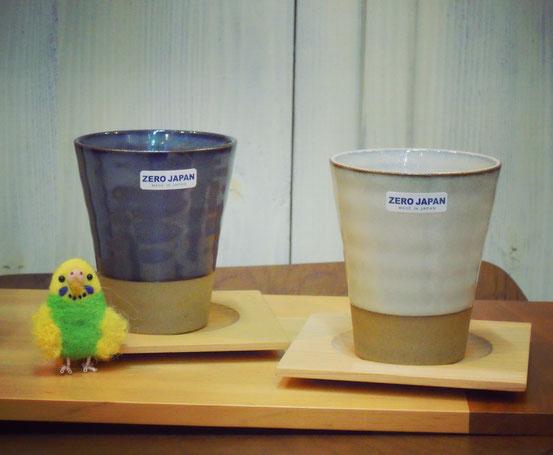 ZEROJAPANフリーカップと四万十桧コースター