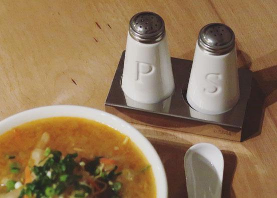 ZEROJAPANソルト&ペッパーと味噌ラーメン