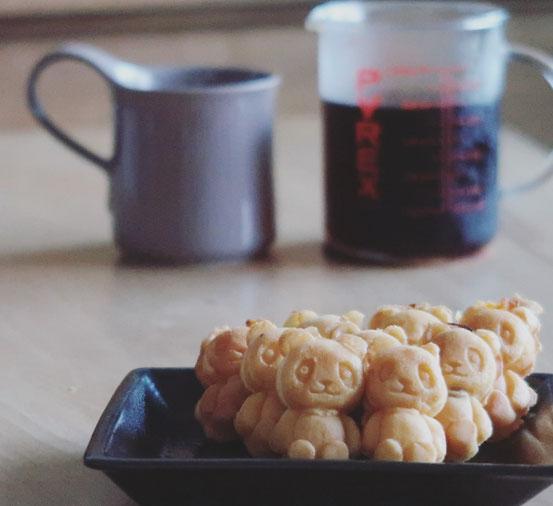 花神楽パンダ焼とZEROJAPANカフェマグ