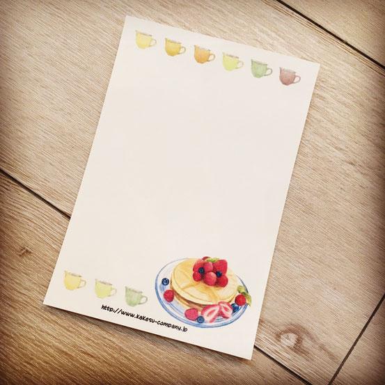 カケス雑貨店オリジナルメッセージカード