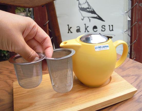 ZEROJAPANユニバーサルティーポット&茶こし