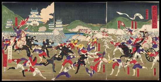 081鹿児島戦記 〔熊本城の戦〕