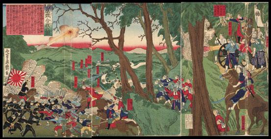 D102田原坂合戦の図
