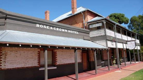 Rose & Crown Hotel; Additions and Conservation Works