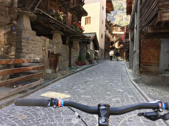 スイス Zermattにて
