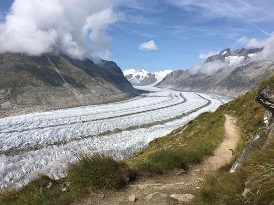 スイス アレッチ氷河