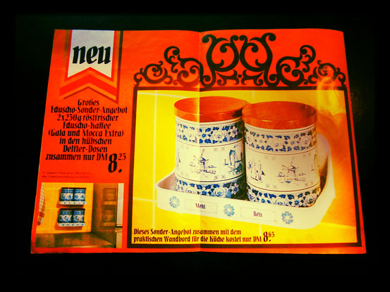 Eduscho Werbung 1966