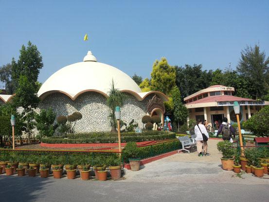 Das Innere des Ashrams