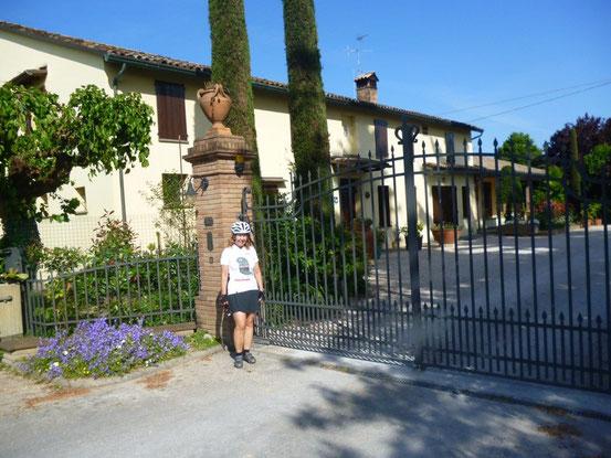 Evi 32 km vor Ravenna