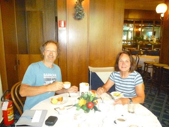 Frühstück im Savoy