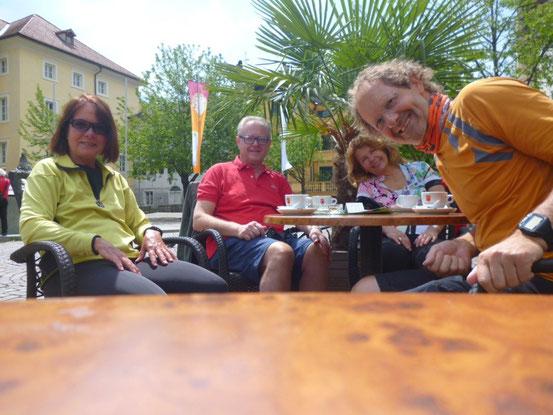 Am Domplatz in Brixen
