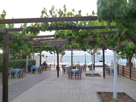 Unsere Taverne in Diakopto