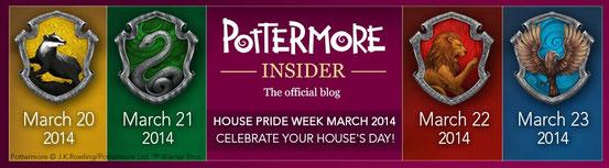 """La bannière de la """"House Pride Week"""""""