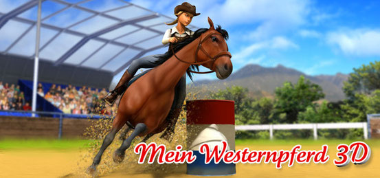 mein westernpferd 3d pferd pony spiele games. Black Bedroom Furniture Sets. Home Design Ideas
