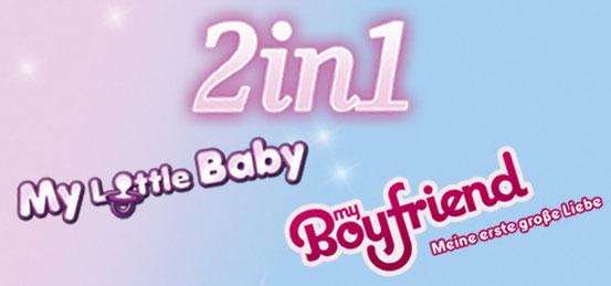 Header 2in1: My Little Baby + My Boyfriend – Meine erste große Liebe
