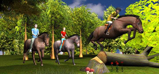 Header 2in1: Mein Gestüt + Mein Gestüt – Ein Leben für die Pferde