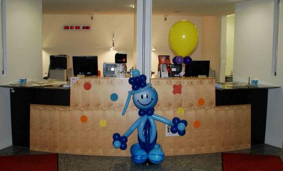 Mr. Balloni.ch, Dekoration, Raumdeko, Ballonmann, Helium,Fasnacht