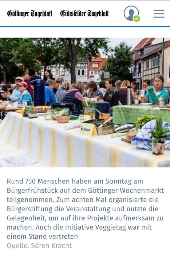 Göttinger Tageblatt vom 4.6.2018