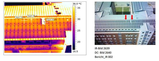 thermografisches Bild, Flir und Optris werden mit dem Echtbild verglichen
