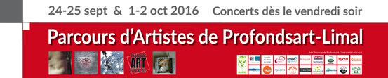 Prélude à la 6e édition des Parcours d'Artistes: rencontre entre les artistes, les accueillants et le staff